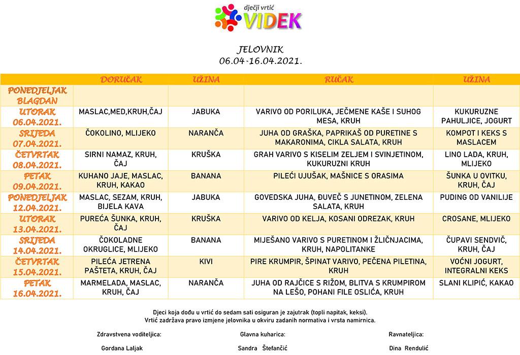 Jelovnik-06.04-16.04
